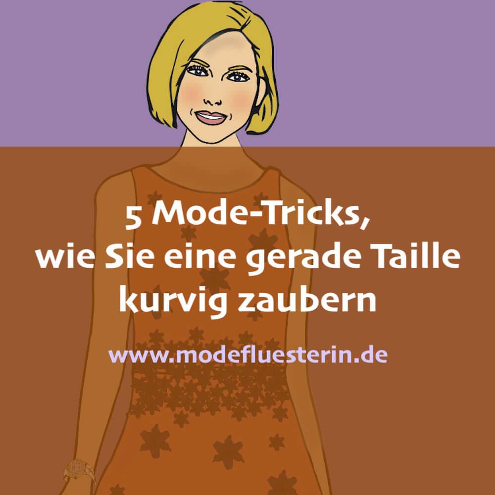 5 Mode-Tricks, um ein gerade Taille kurviger zu stylen