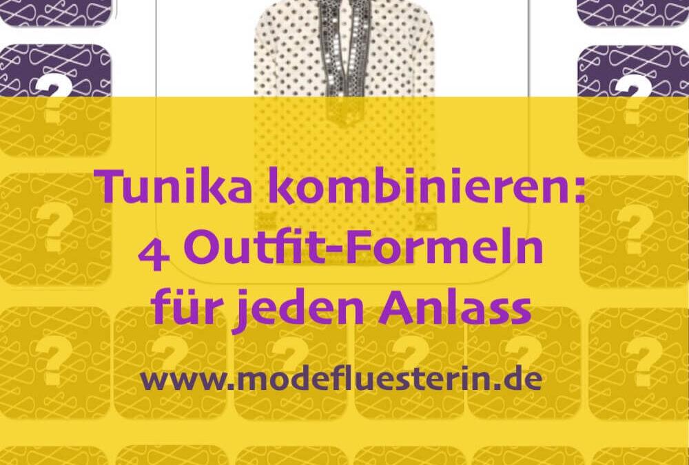 Tunika kombinieren: 4 Outfit-Formeln für jeden Anlass