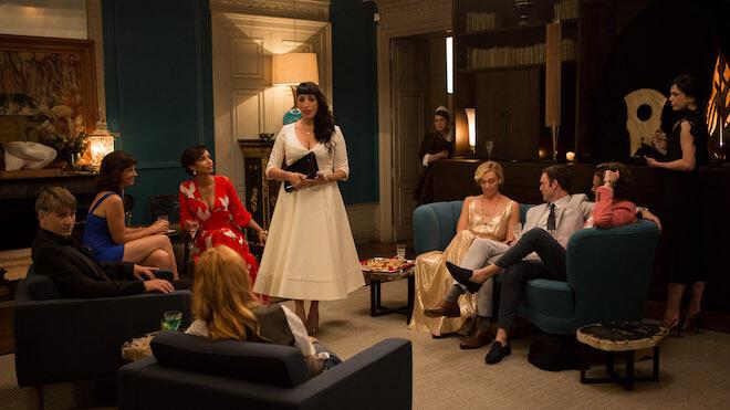 Welches Kleid passt zu welchem stil - MADAME-Ratespiel - Szene beim Dinner