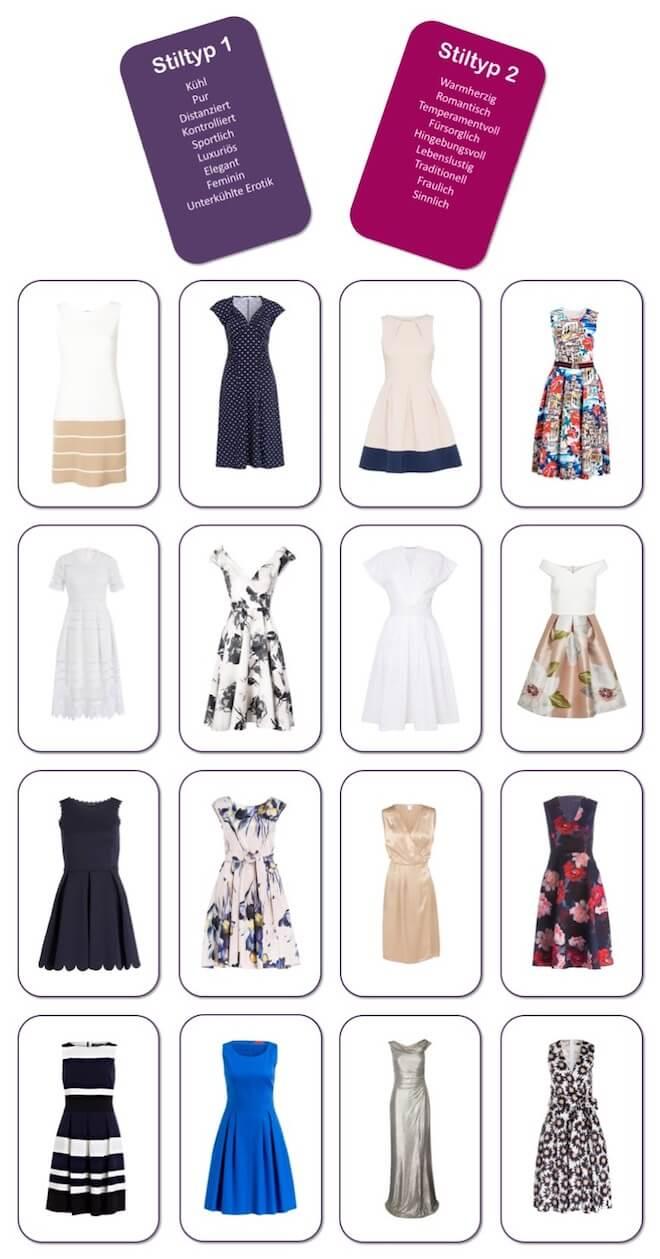 Welches Kleid passt zu welchem Stil - MADAME-Ratespiel - alle Kleidermodelle