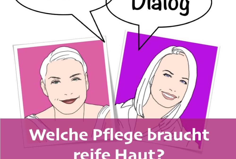 Fashion-Dialog: Welche Pflege braucht reife Haut?