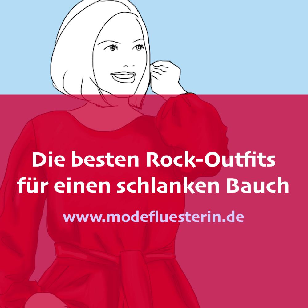 Die besten Rock-Outfits für einen schlanken Bauch