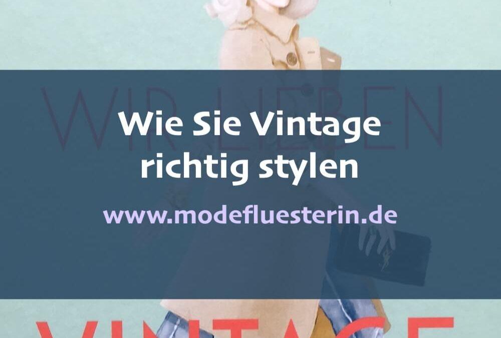 Wie Sie Vintage richtig stylen und einkaufen*