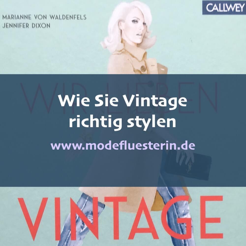Vintage richtig stylen - Tipps und Tricks zum Vintage-Look