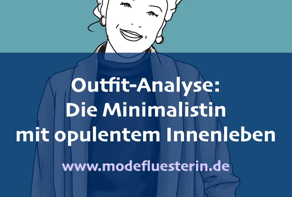 Outfit-Analyse: Ein minimalistisches Outfit mit opulentem Innenleben