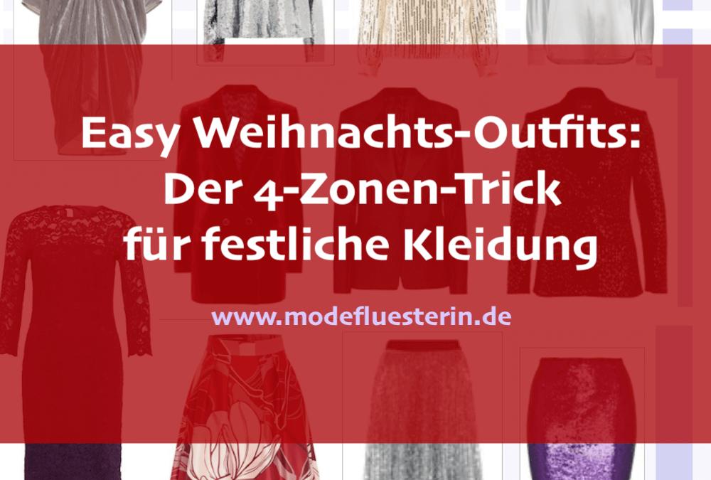 Weihnachtsoutfits im Easy Chic: Der 4-Zonen-Trick für festliche Kleidung