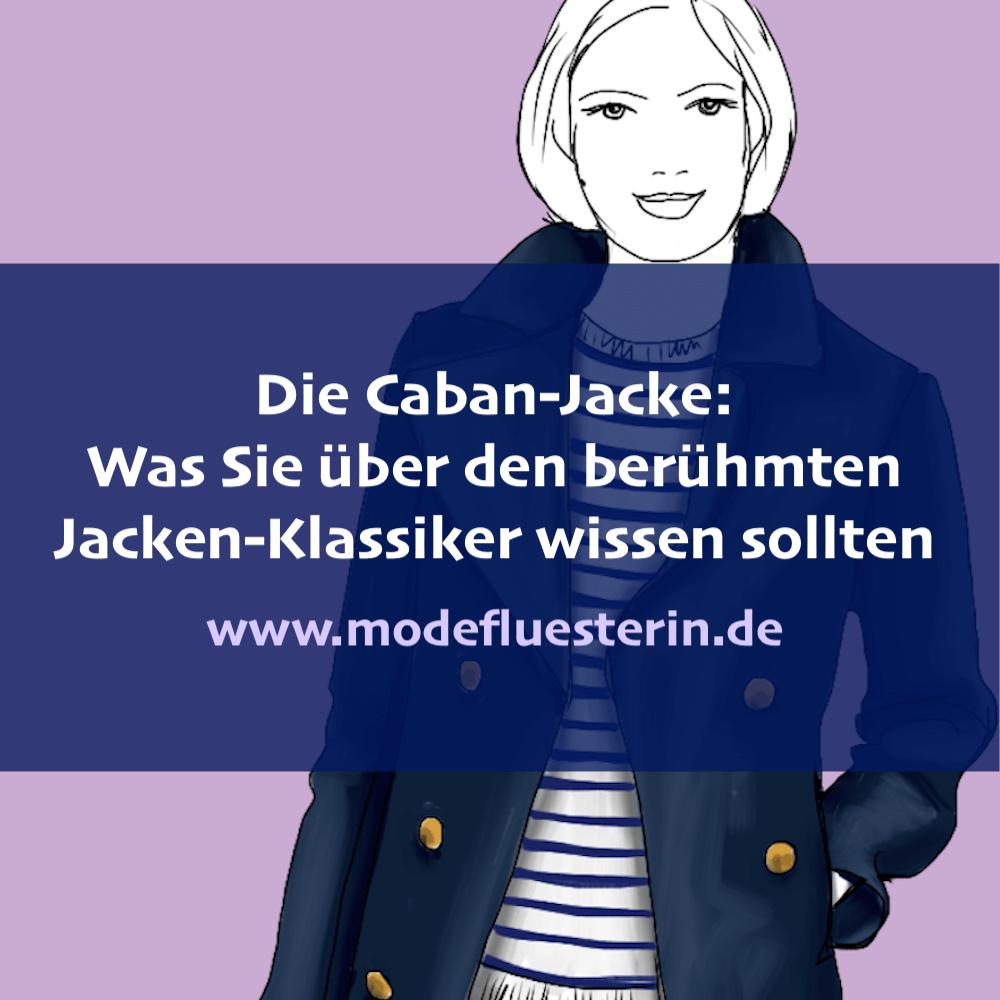 Alles über die Caban-Jacke - wie Sie sie tragen, kombineiren, welchem Figurtyp der Pea Coat steht