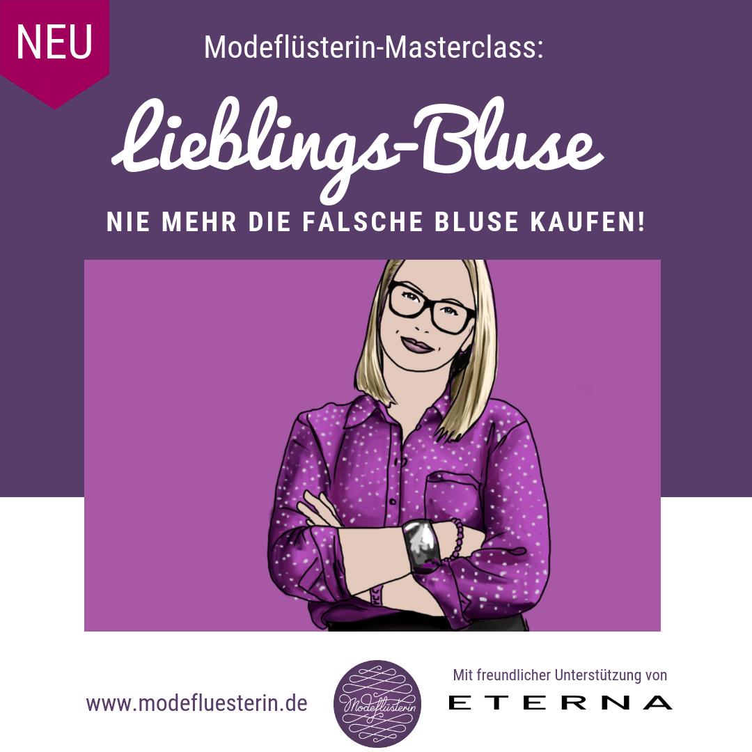 Modekurs - die ideale Bluse finden - Blusenschnitte - Blusen-Stil - Blusen-Passform - Blusen einkaufen - Blusen-Qualität -Blusenfarben - Blusen-Muster