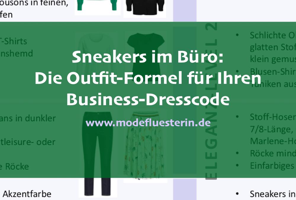 Sneakers im Büro: Outfit-Formeln, mit denen Sie alles richtig machen