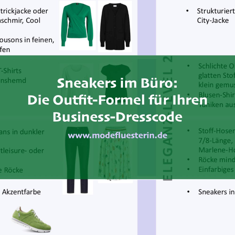 Sneakers im Büro tragen: Outfit-Formeln und Stil-Regeln