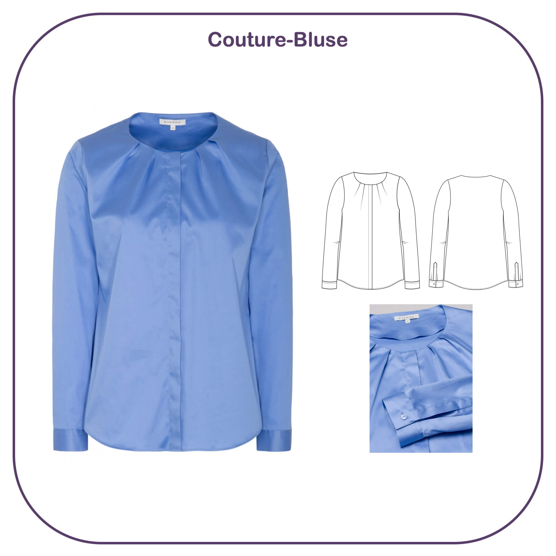 Couture-Bluse