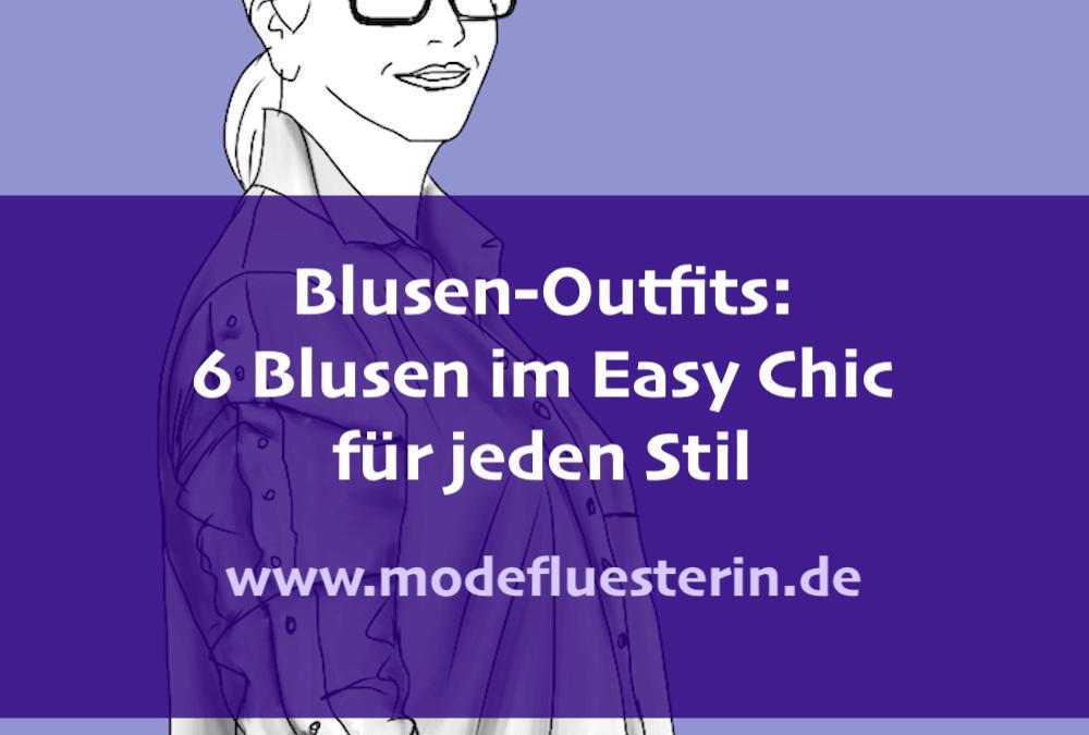 Wie Sie Blusen richtig kombinieren – ohne dass es spießig aussieht*