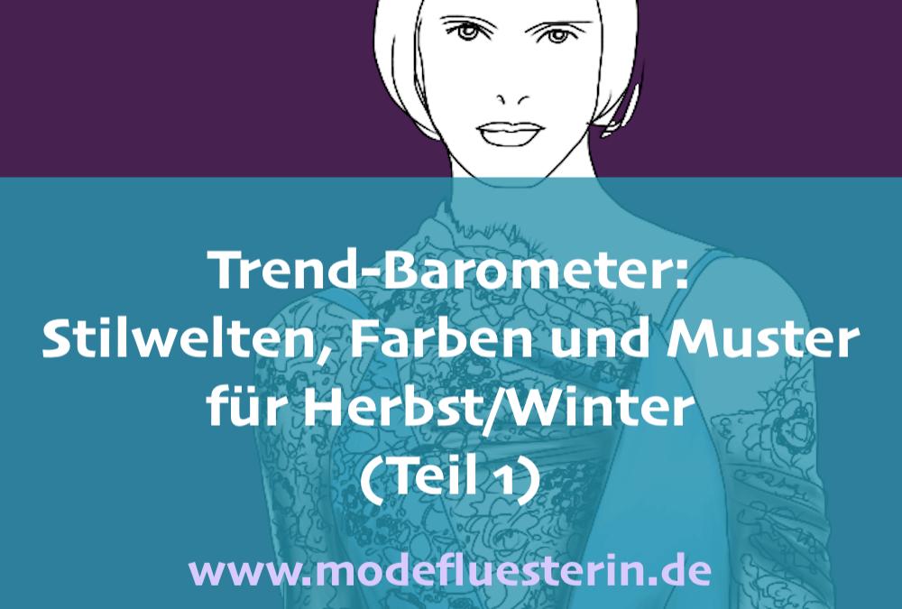 Das Modeflüsterin-Trend-Barometer Herbst/Winter 2019 für Frauen über 40 – Teil 1: Stilwelten, Farben und Muster