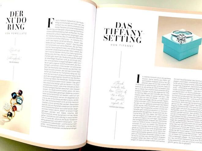 Der Tiffany-Verlobungsring gehört zu den berühmtesten Schmuckstücken der Welt