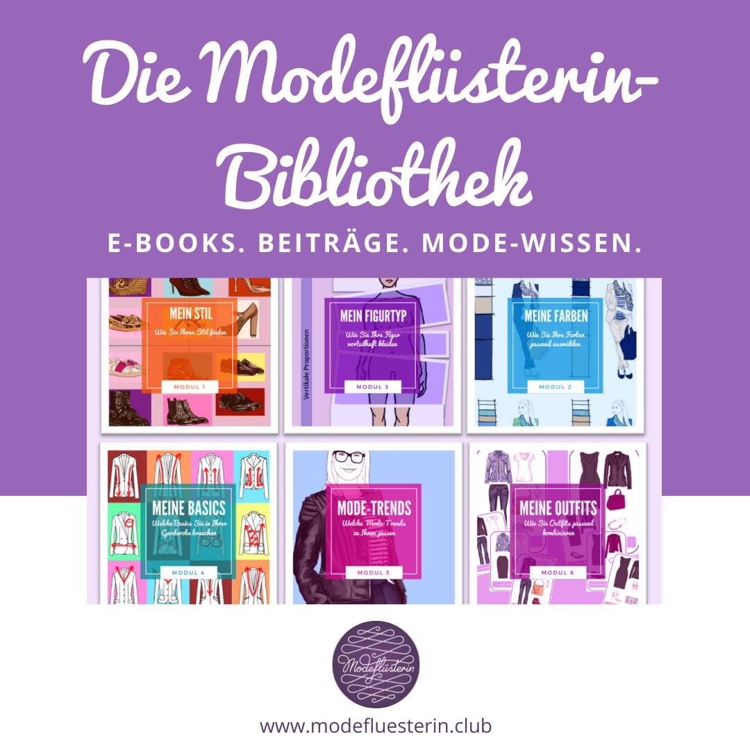 Modeflüsterin-Bibliothek - Modewissen vom Feinsten