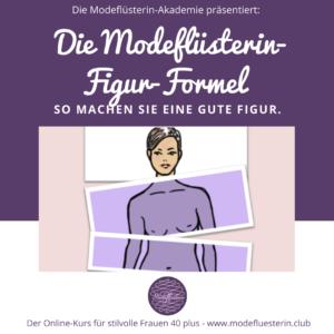 Modeflüsterin-Figur-Formel: von Körperfrust zu Modelust