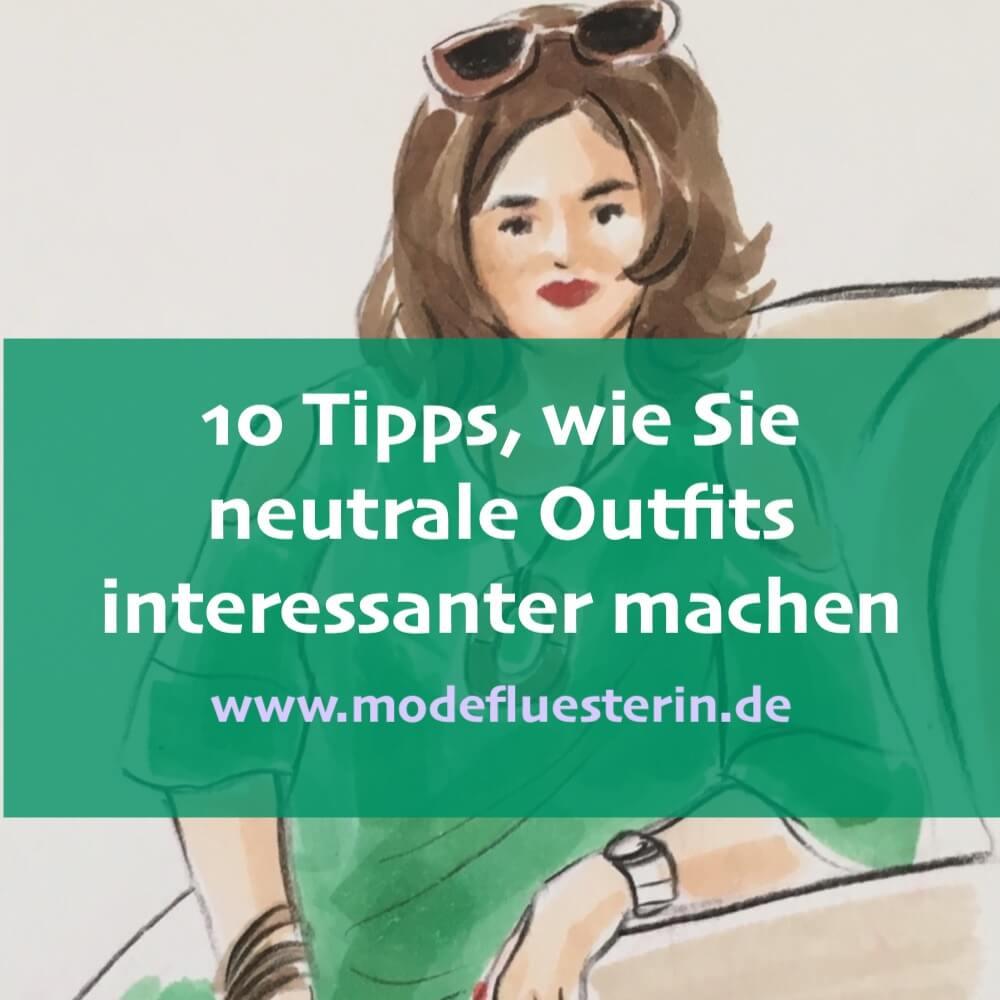Outfit interessanter machen - 10 Tipps, wie es funktioniert