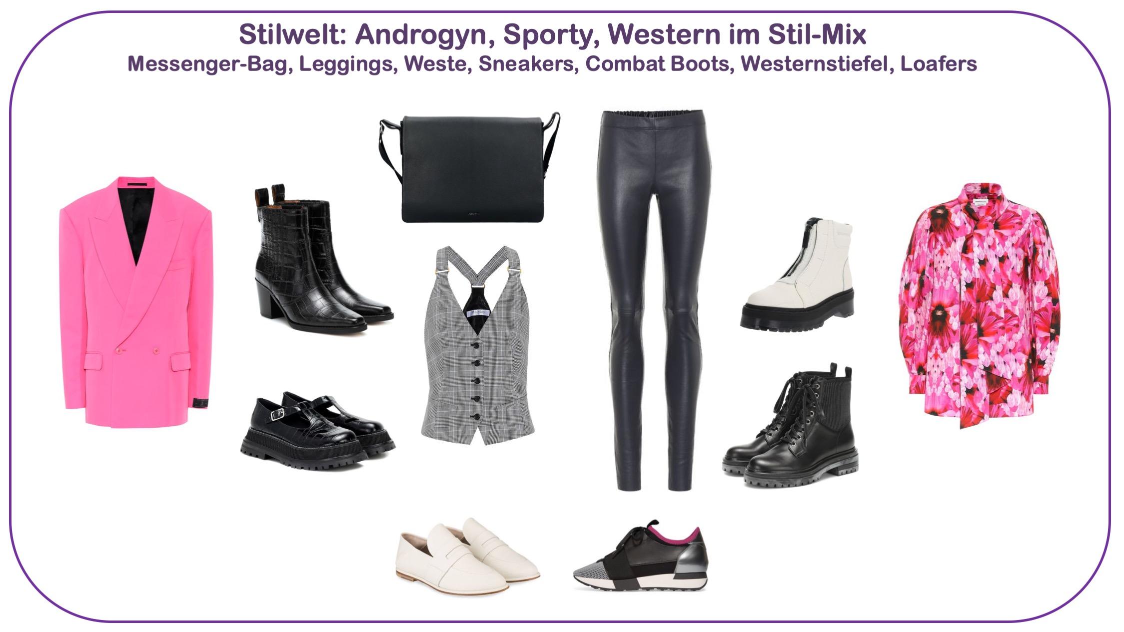 Modetrends Frühjahr/Sommer 2020 - Stilwelt androgyn
