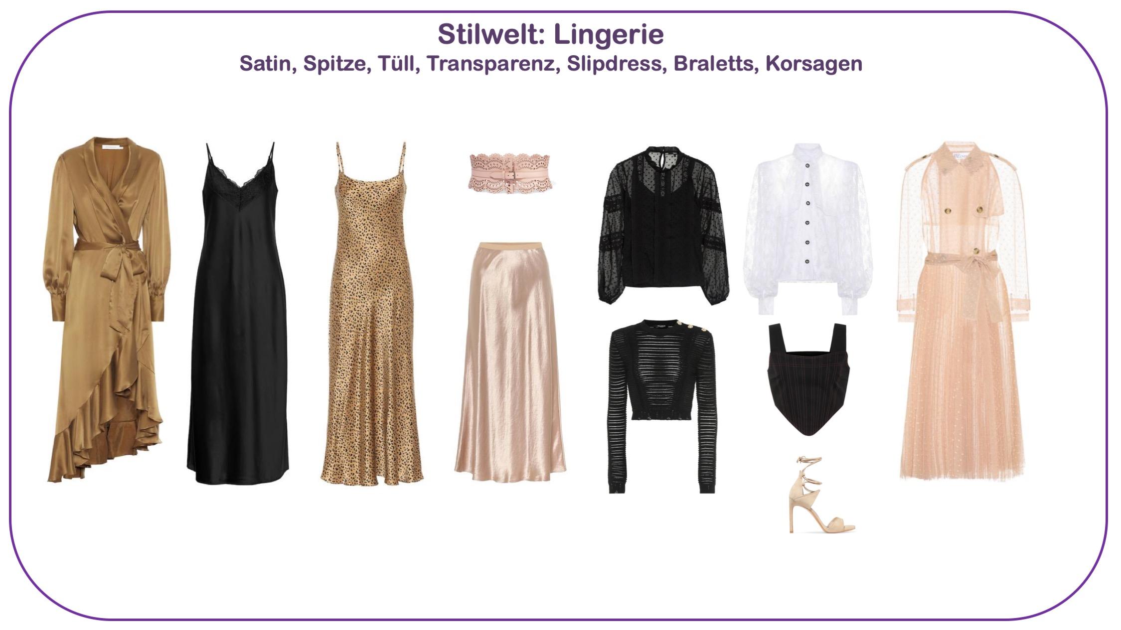 Modetrends Frühjhar/Sommer 2020 - Stilwelt Lingerie