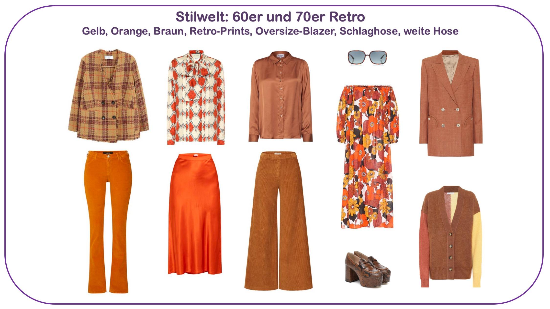 Modetrends Frühjahr/Sommer 2020 - Stilwelt Retro