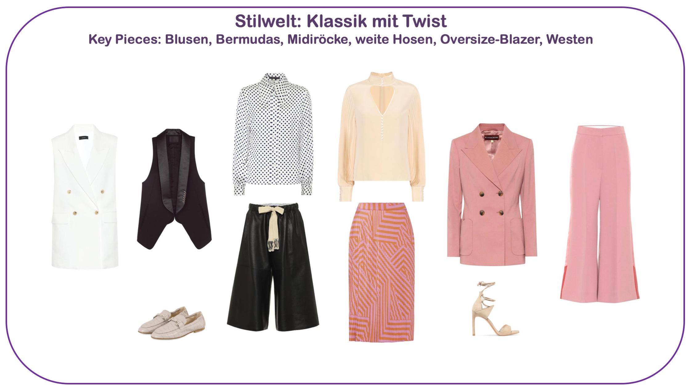 Modetrends Frühjhar/Sommer 2020 - Stilwelt Klassik mit Twist