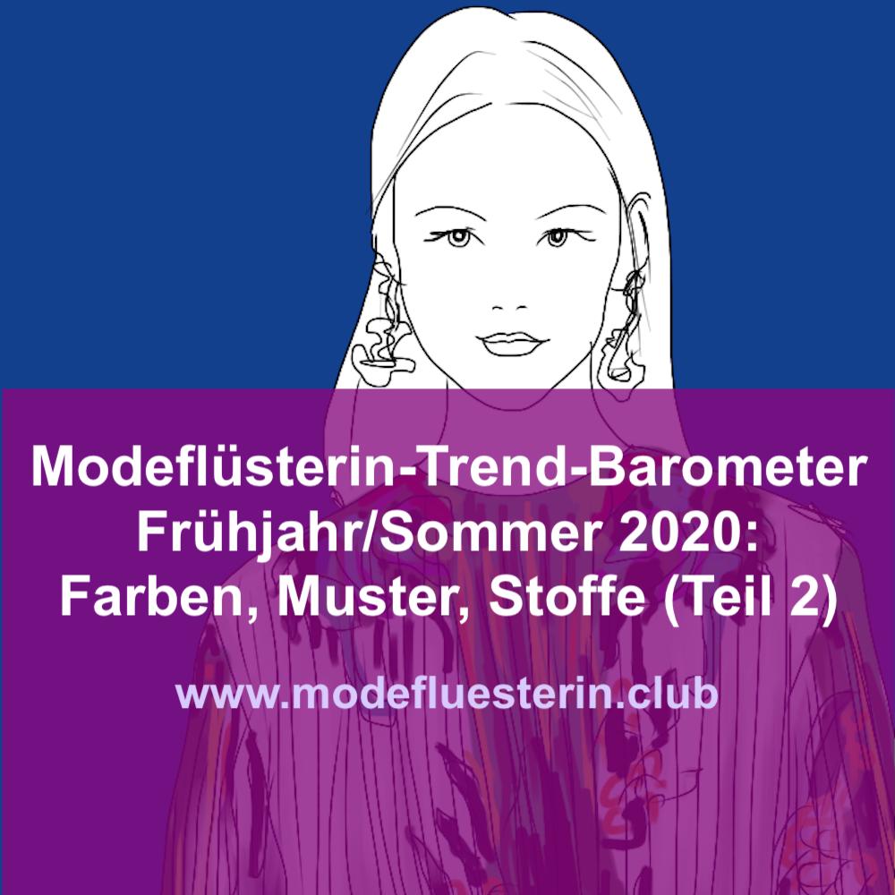 Modetrends für Frauen über 40 - Frühjahr/Sommer 2020 - Farben, Muster und Stoffe