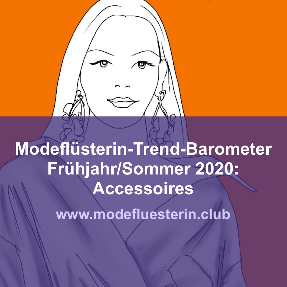 Modetrends Frühjahr/Sommer 2020 für Frauen über 40: Accessoires (Teil 4)