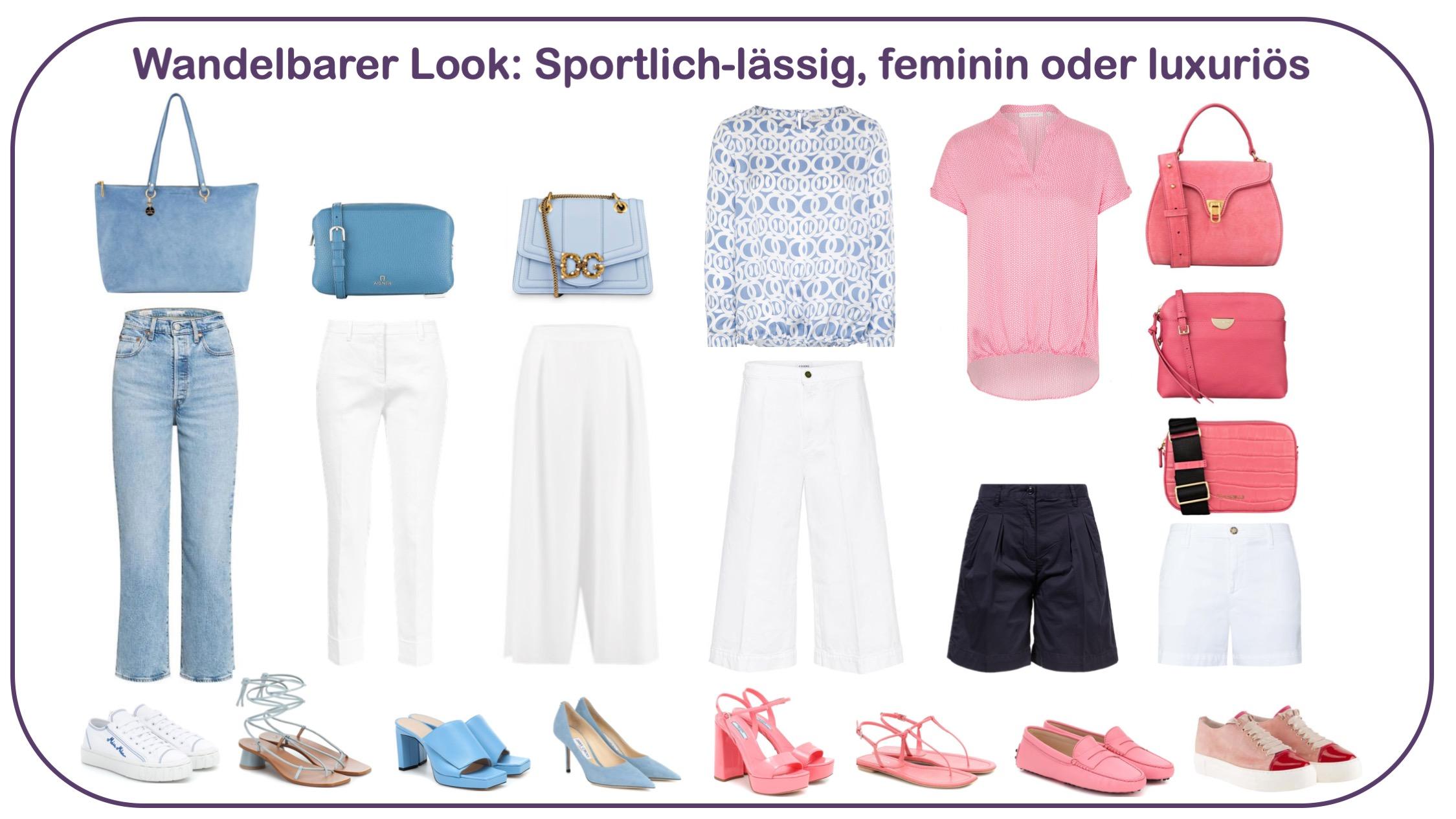 Blusen gewinnen und kombinieren: feminine, sportliche oder luxuriöse Looks
