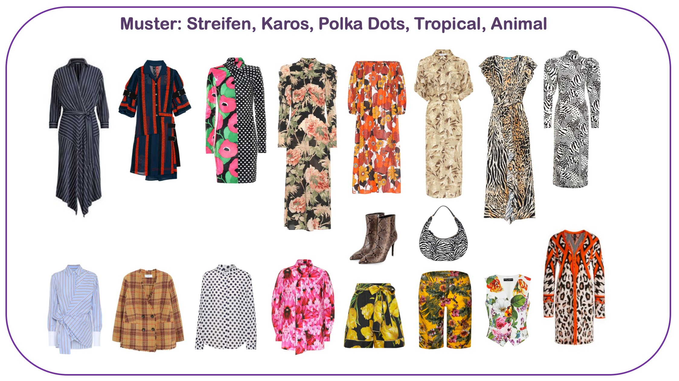 Modetrends FS 2020 - Muster