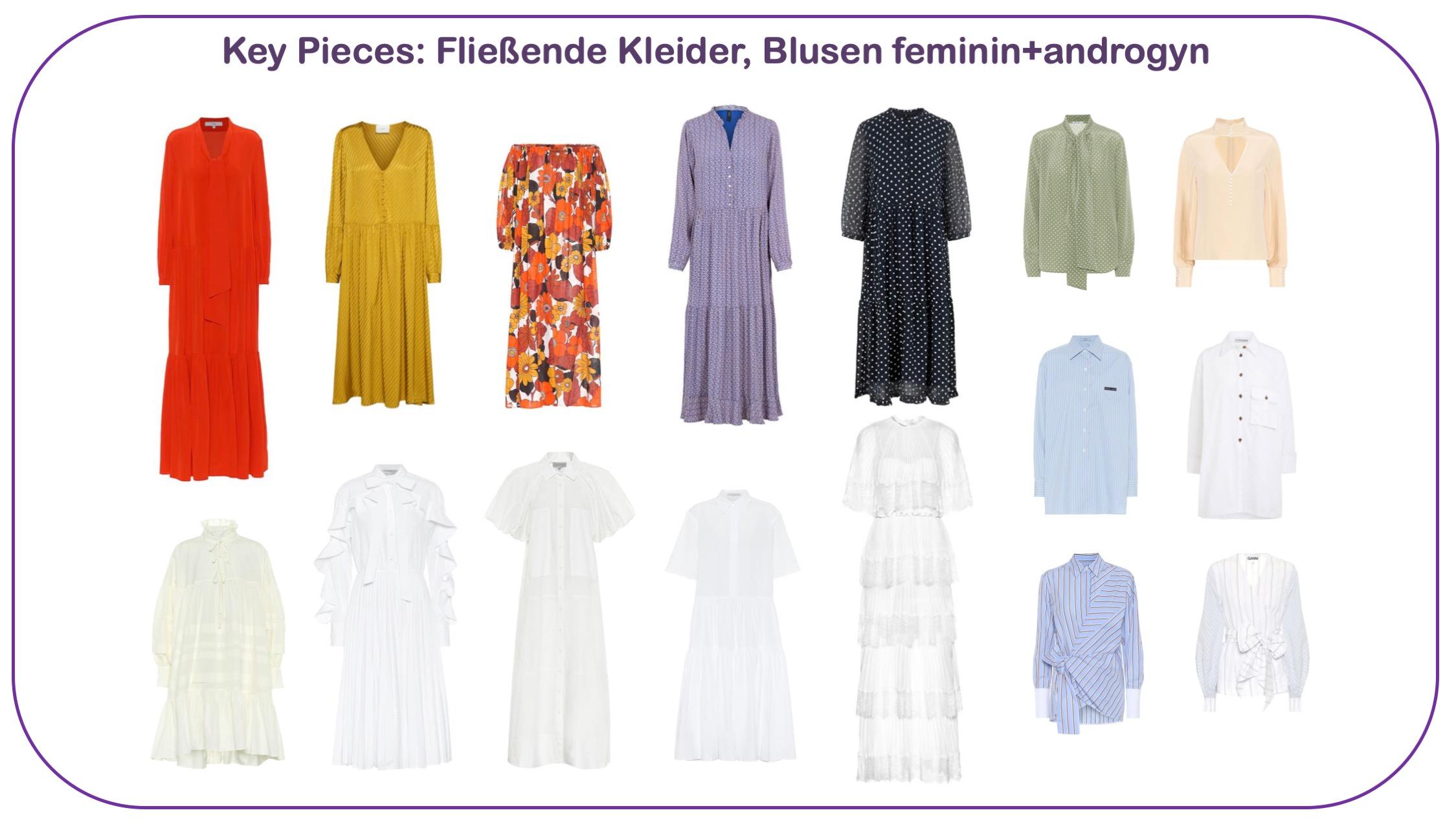Modetrends Frühjahr/Sommer 2020 - Sommerkleider, Blusen