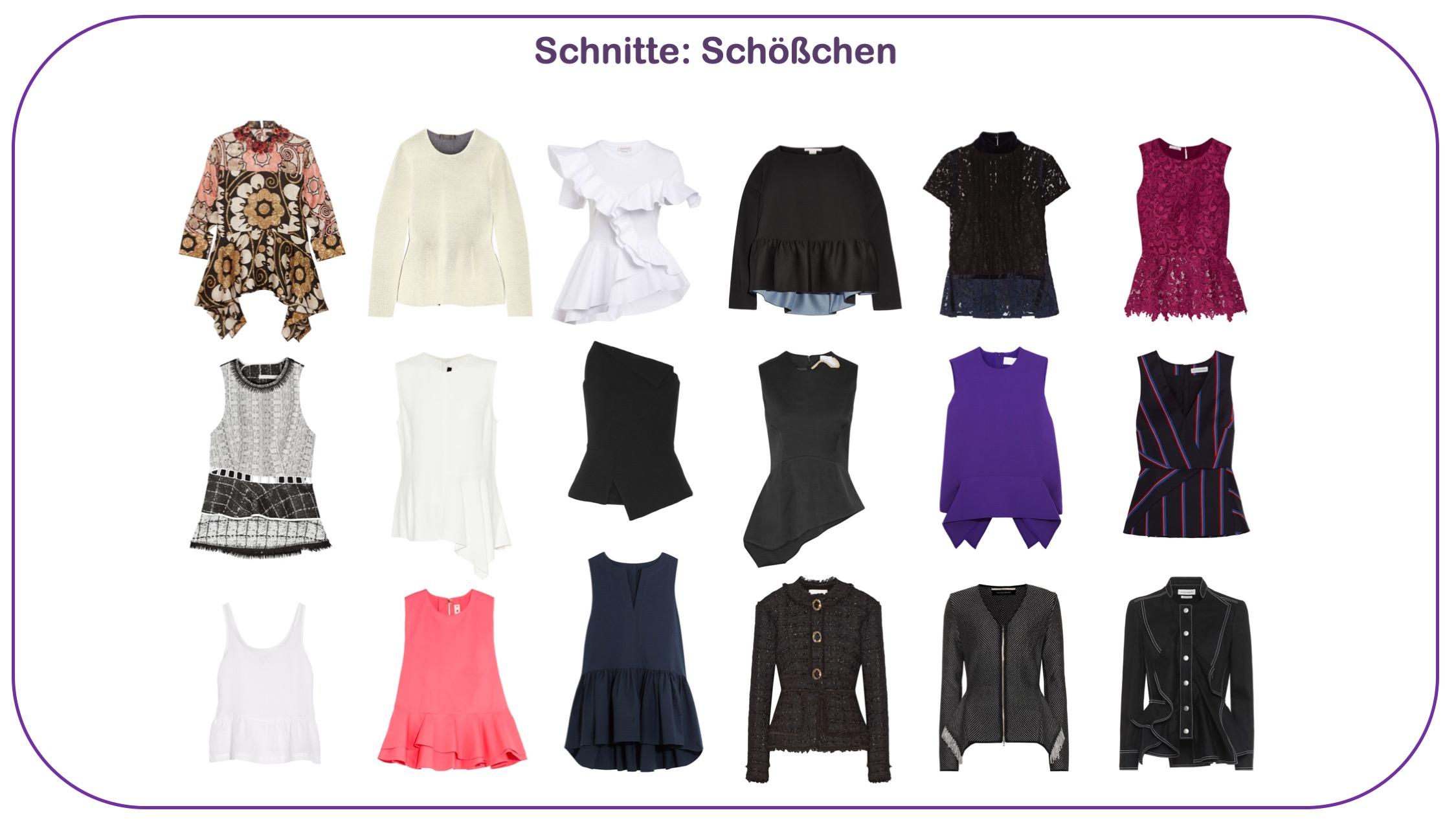 Modetrends Frühjahr/Sommer 2020 - Oberteile mit Schößchen für Frauen über 40