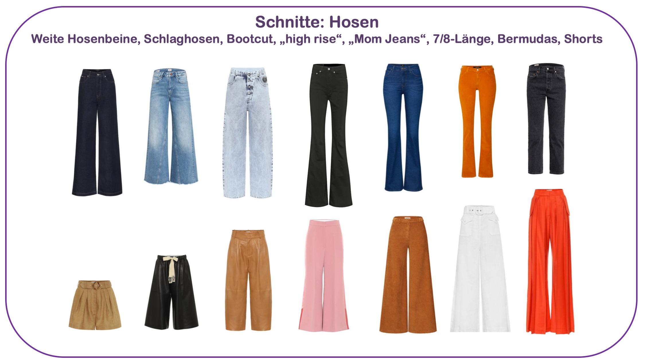 Modetrends Frühjahr/Sommer 2020 - Hosenschnitte für Frauen über 40