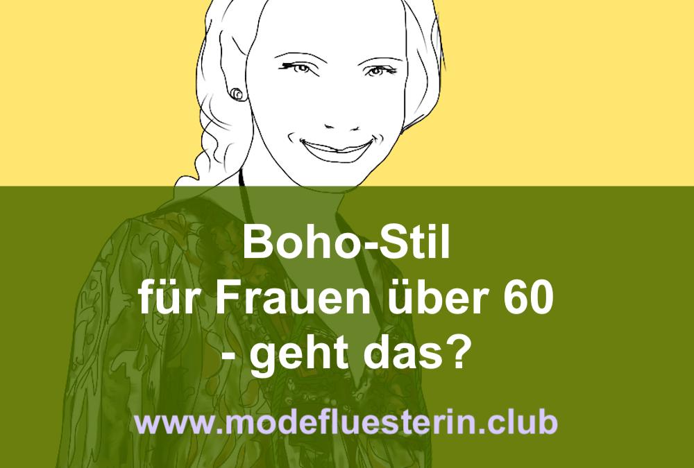 Boho-Stil für Frauen über 60 – geht das?