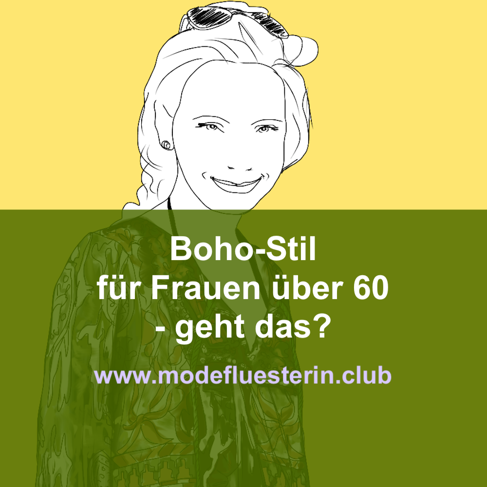 Boho-Stil für Frauen über 60 - geht das?