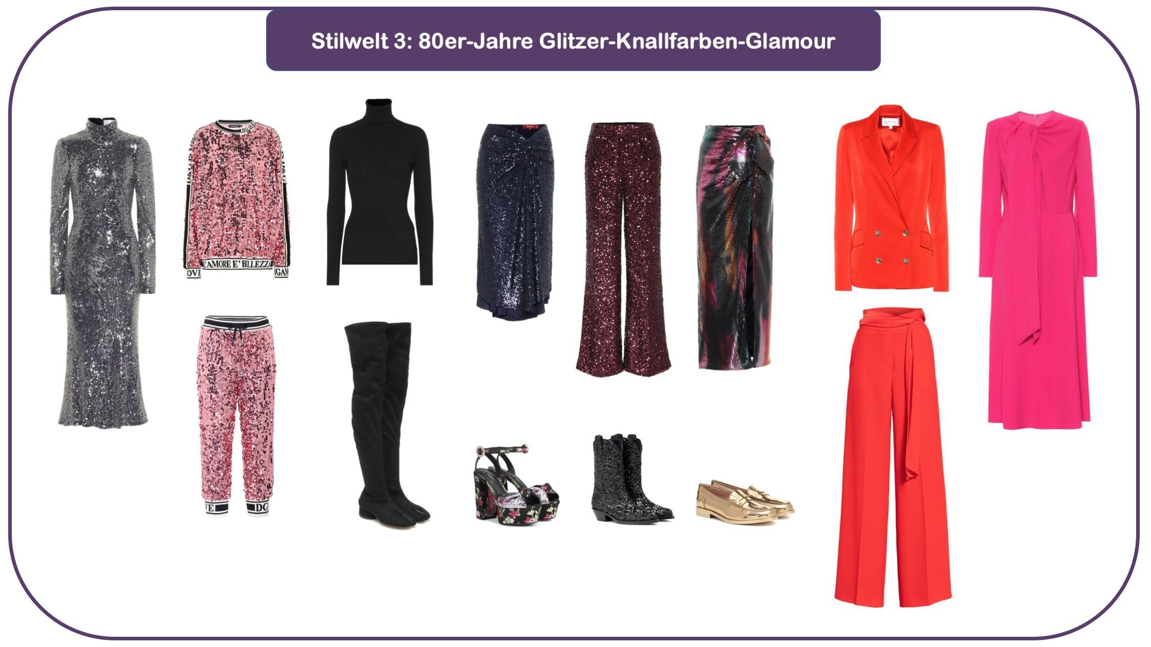 Modetrends für herbst und Winter 20/21 - Stilwelt 80er-Jahre-Glamour