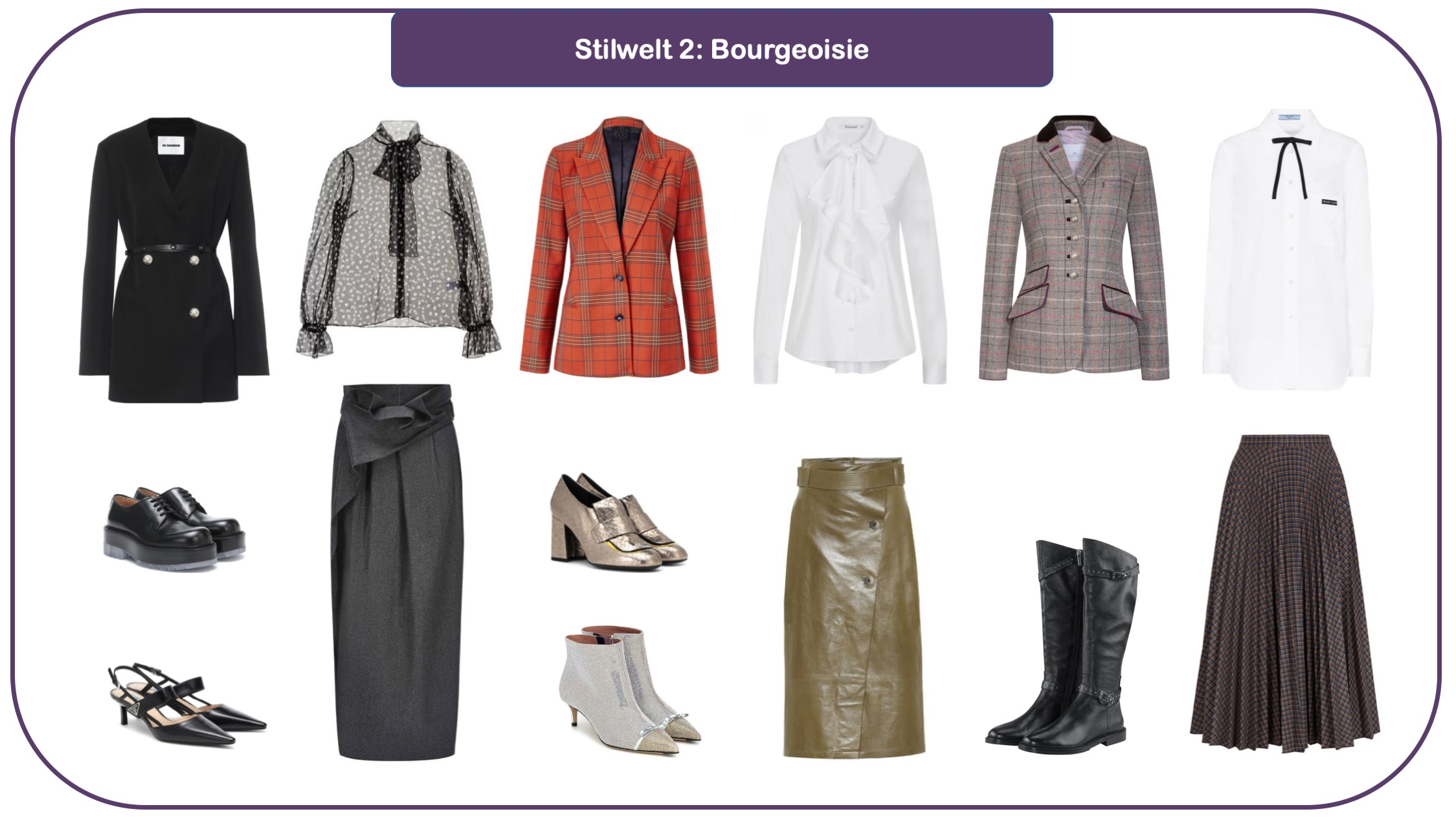 Modetrends für herbst und Winter 20/21 Stilwelt Neue Klassik
