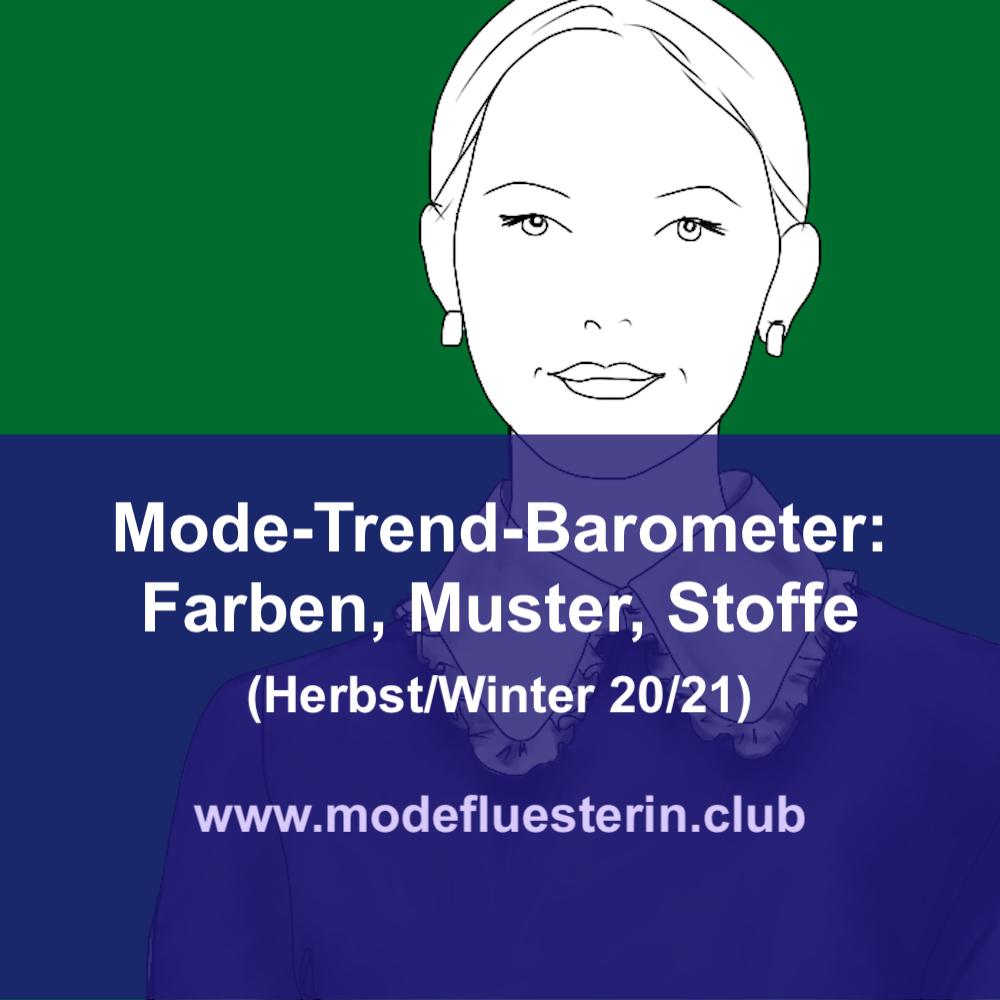 Trendfarben und Trednmuster für Herbst und Winter 20/21
