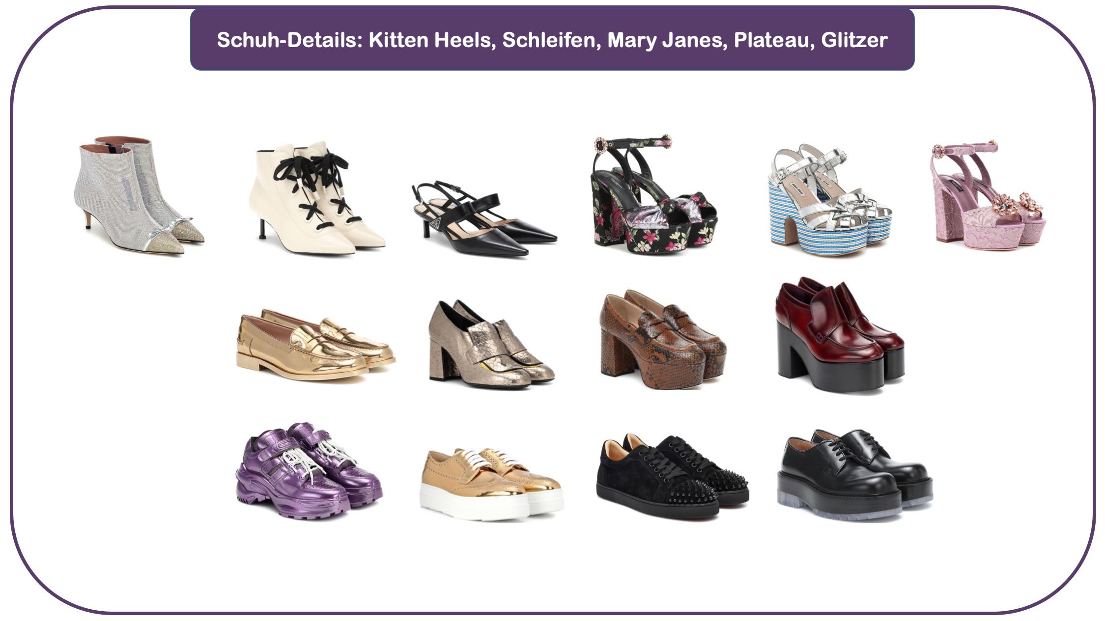 Schuh- und Taschen-Trends - Trend-Accessoires - Schuhe für Herbst und Winter 20/21