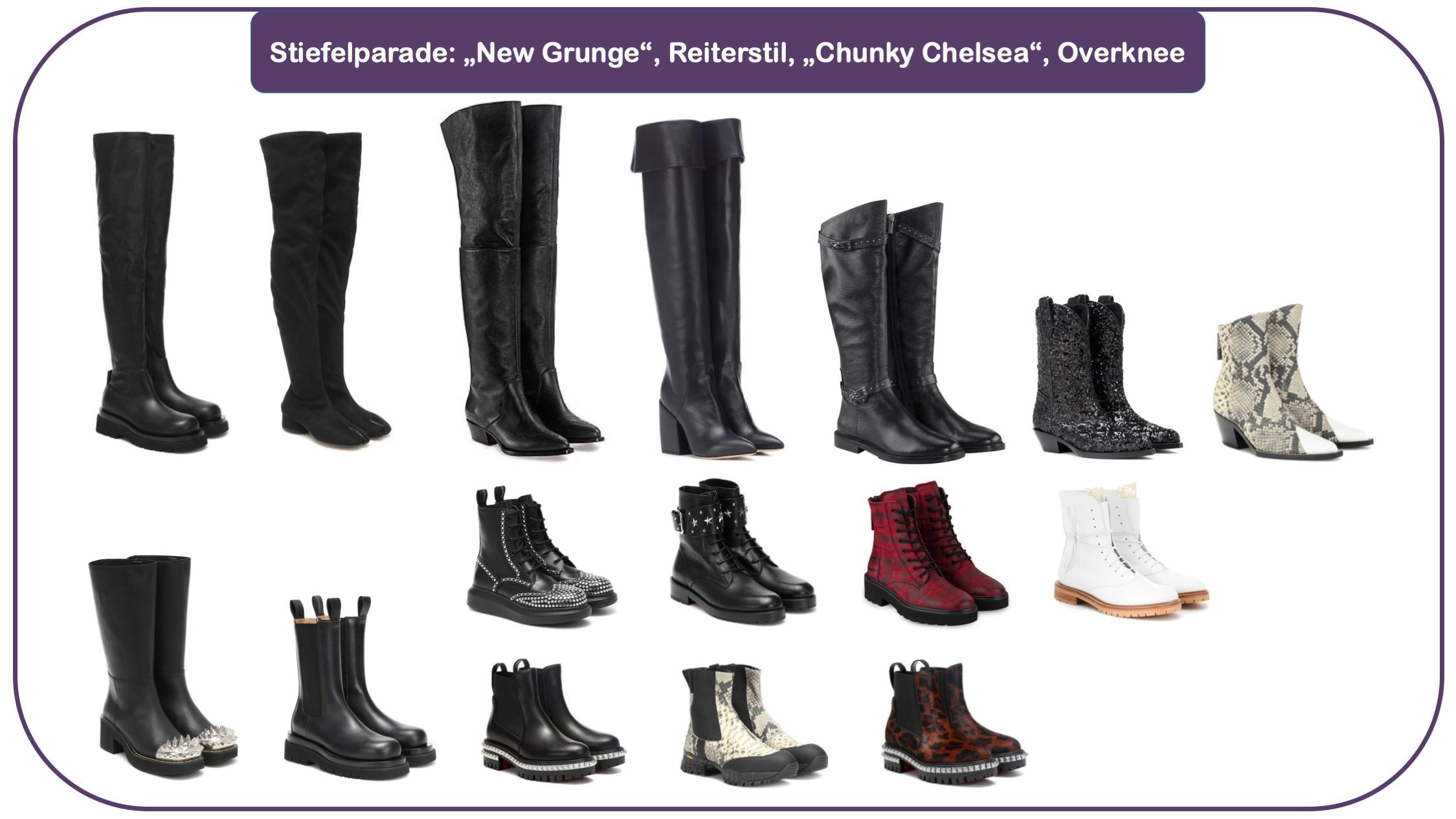 Schuh- und Taschen-Trends - Trend-Accessoires: Stiefel für Herbst und Winter 20/21