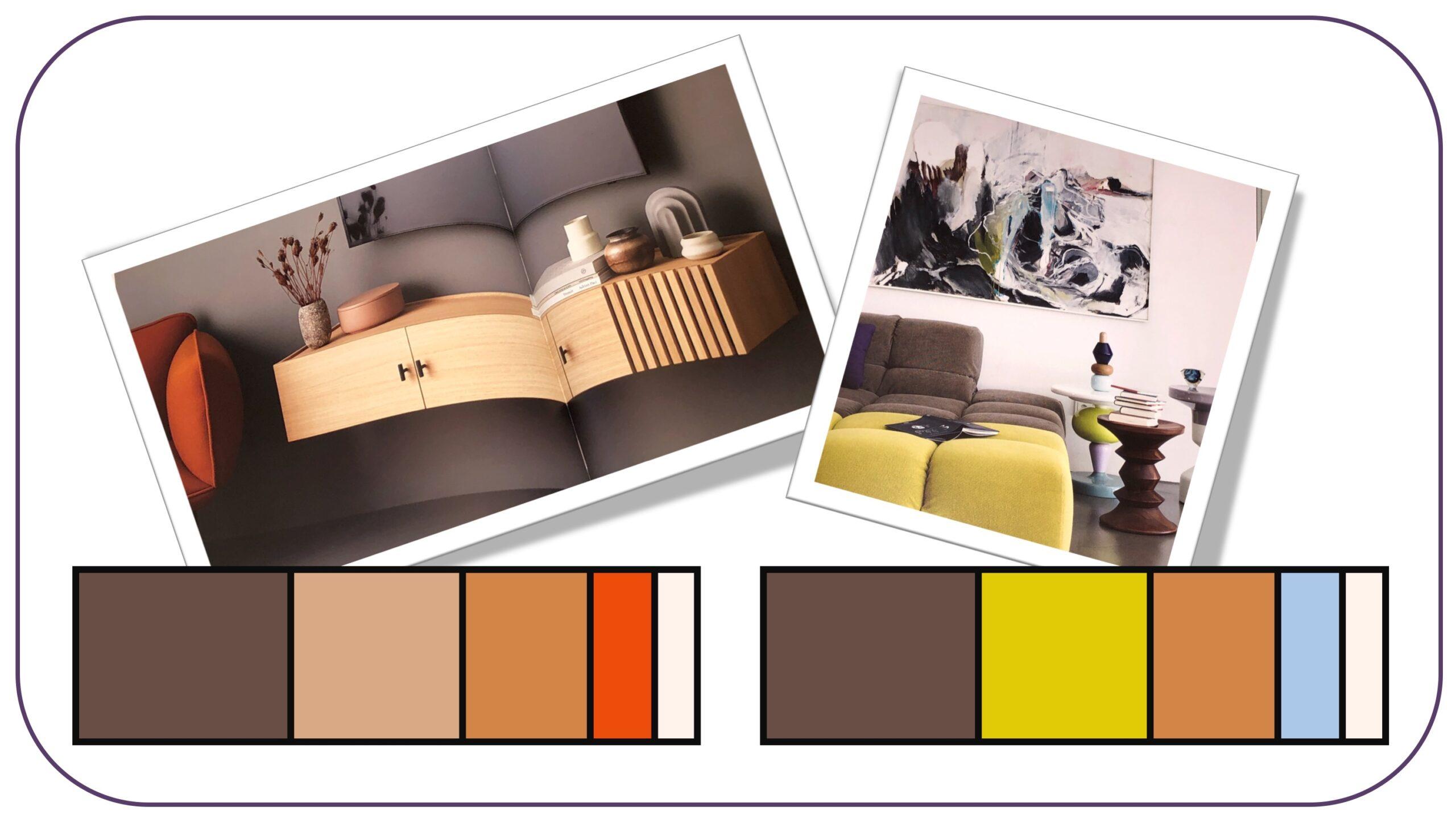 Stil-Inspiration für Modemutige: Farbkonzepte