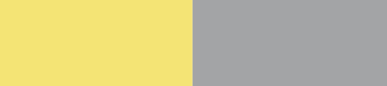 Pantone-Trendfarben Gelb und Grau