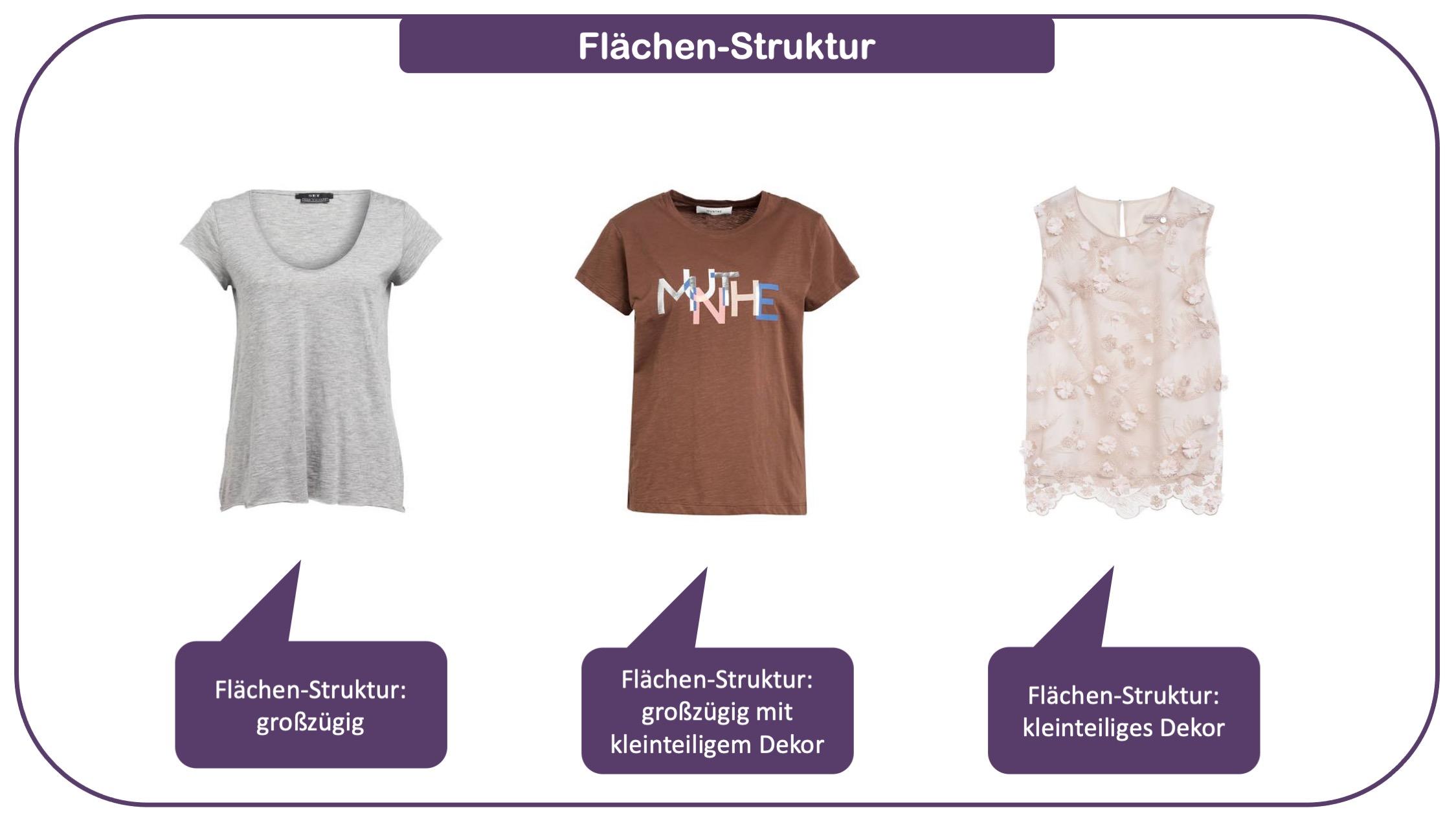 Stilfaktor Struktur Modewissen für Ihre Fashion-Intelligenz Beispiel 3