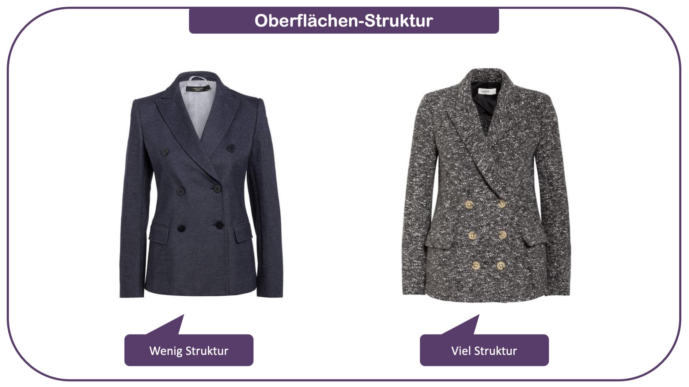 Stilfaktor Struktur - Modewissen für ihre Stil-Intelligenz - Beispiel 2