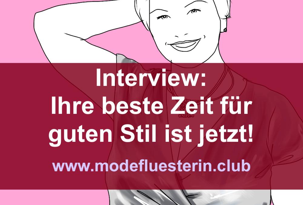 Stil-Interview: Ihre beste Zeit für guten Stil ist jetzt! (Mit Verlosung)