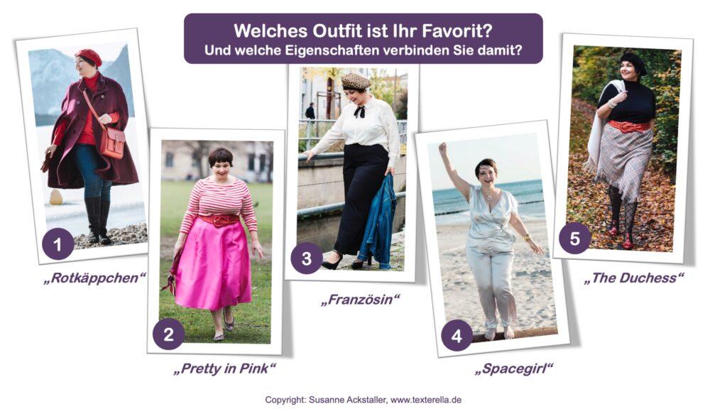 Beste Zeit für guten Stil - Outfits Susi Übersicht