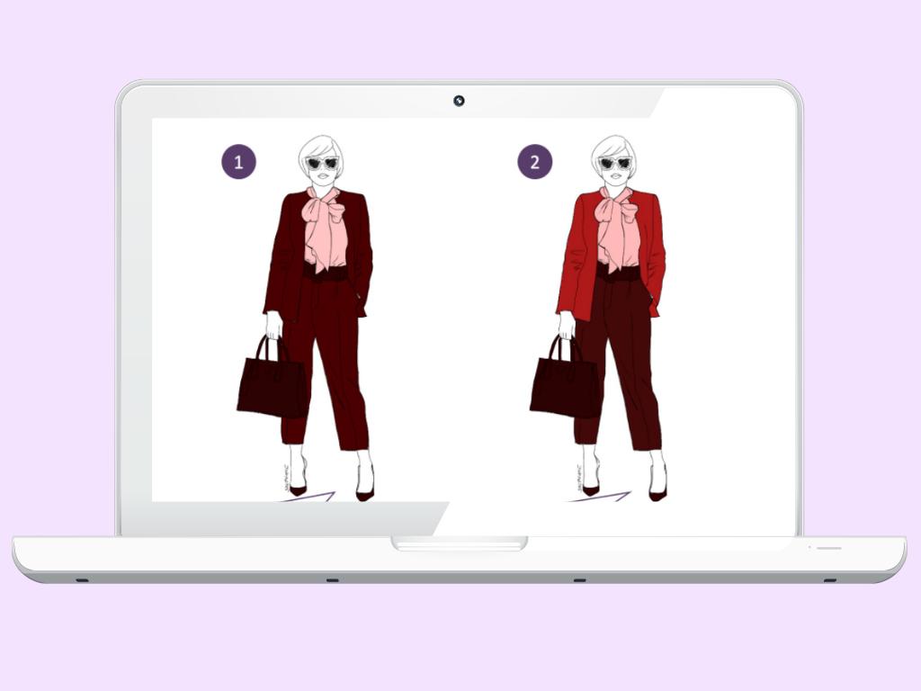 Stilreise Schritt 3: Wie kombinieren Sie Farben, sodass sich ein harmonischer Look ergibt?