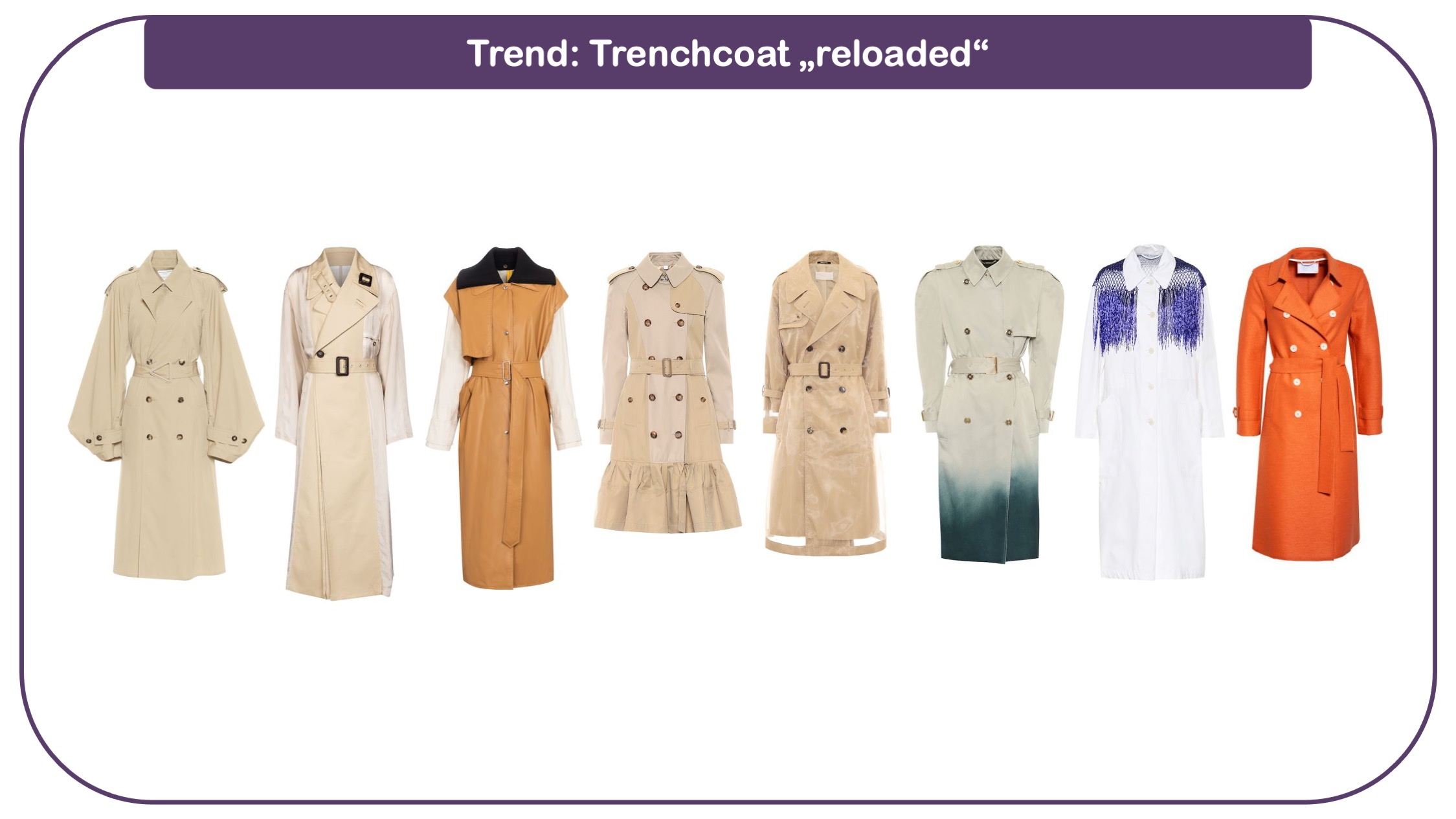 Modetrends für frauen 40 plus - Trenchcoats in neuer Optik
