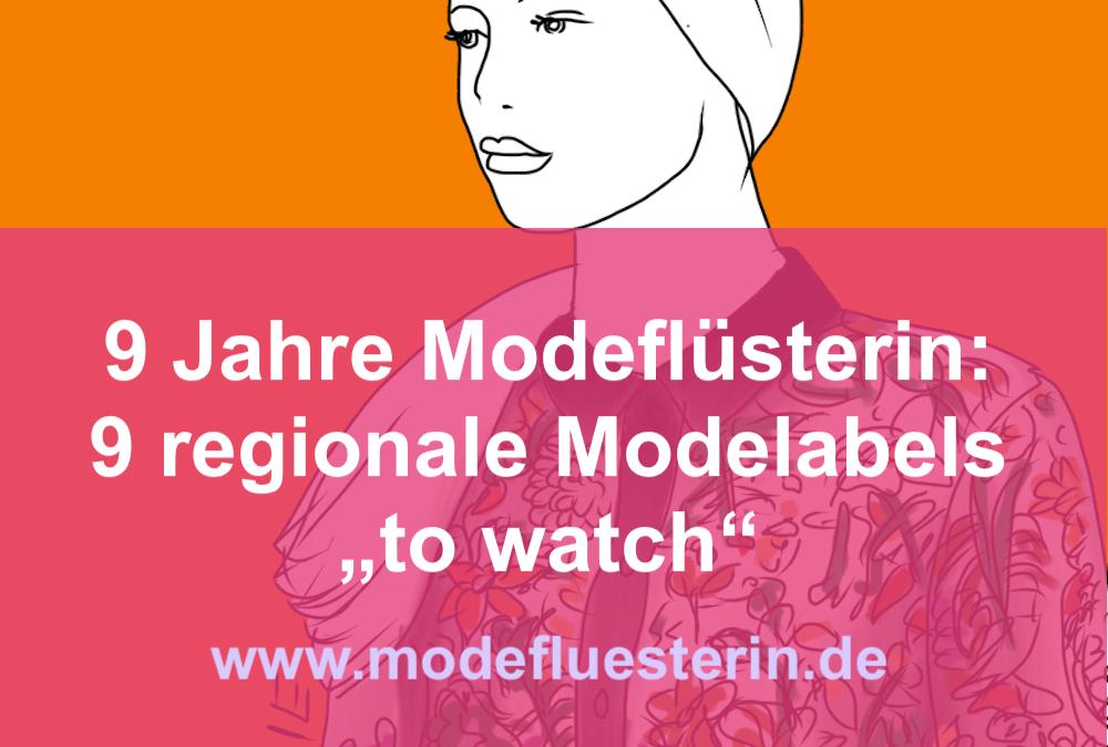 9 Jahre Modeflüsterin: 9 Modelabels abseits vom Mainstream– mit Verlosung*