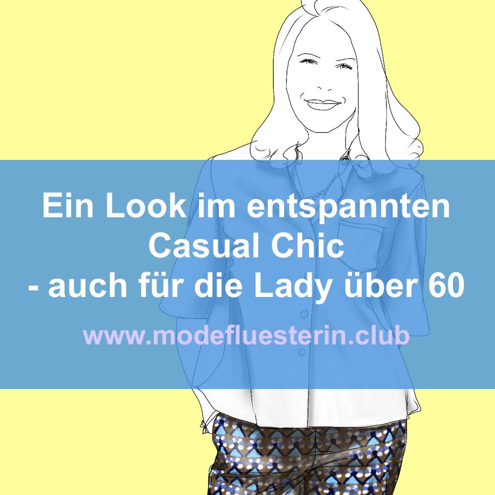 Ein Look im entspannten Casual Chic - Outfit-Analyse von Renate