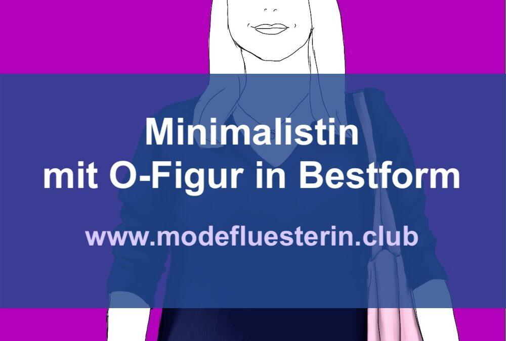 Outfit-Analyse: Minimalistin mit O-Figur in Bestform